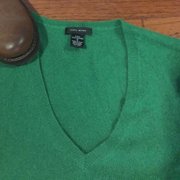 55% off Only mine Sweaters - Emerald green cashmere sweater from ...