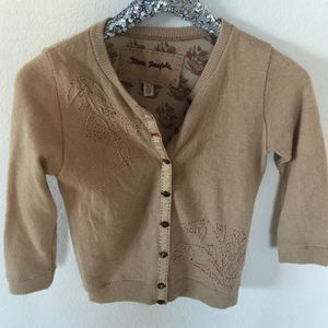 Free People Cardigan Knit Sweater, Small