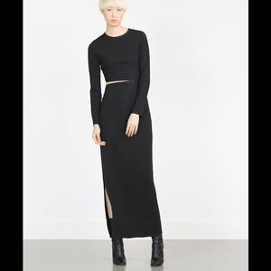 Zara Dresses & Skirts - ZARA STATEMENT DRESS!