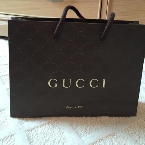 fa3e61511 Gucci Other | Gift Bag | Poshmark