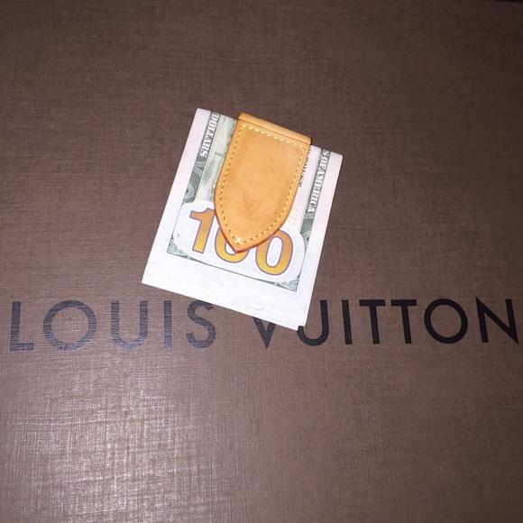 dce2250f6ad5 Louis Vuitton Other - Louis Vuitton money clip