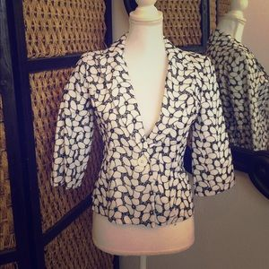 Alfani Jackets & Blazers - Alfani Petite Sz 4 Floral Blazer