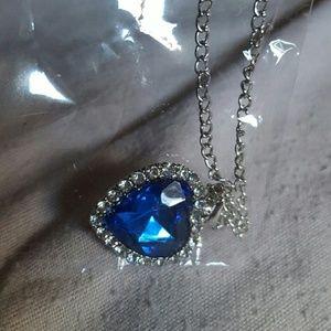 Jewelry - Blue Swarovski Crystal- Titanic Heart of the Ocean