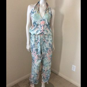 Camilla Other - Camilla Dreams Floral Halter Jumpsuit