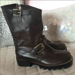 Gee Wa Wa Anthropologie Leather Boots
