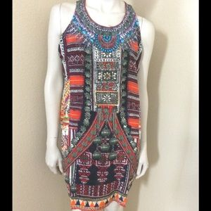 Camilla Dresses & Skirts - Camilla Dance Multicolor Racerback Dress