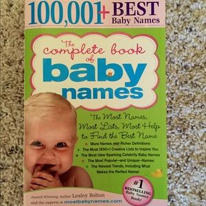 Other - Baby names book