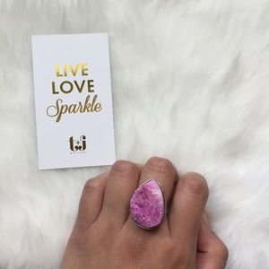 T&J Designs Jewelry - 🆕Druzy ring