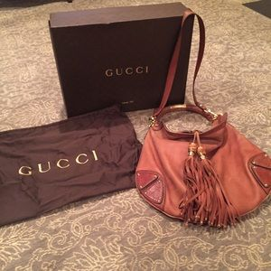 Gucci Guccissima Indy Large Hobo Bag