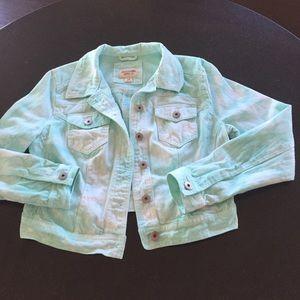 Mossimo Supply Co. Jackets & Blazers - Tye dye jean jacket