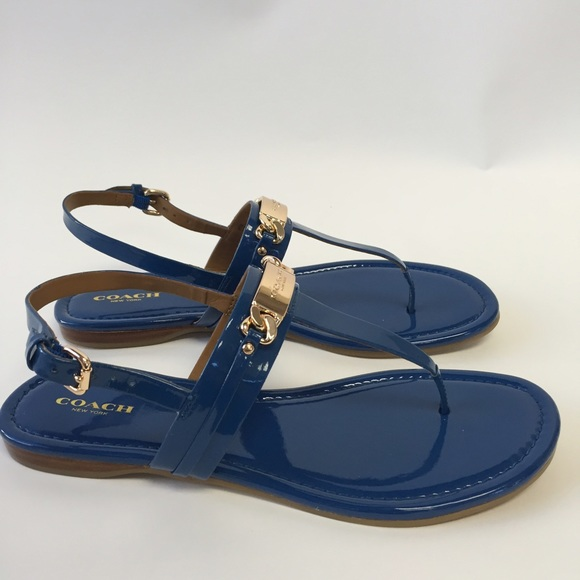 Coach Logo Thong Sandals footlocker pictures online exclusive online prices sale online cheap price top quality buy cheap release dates eLHbR