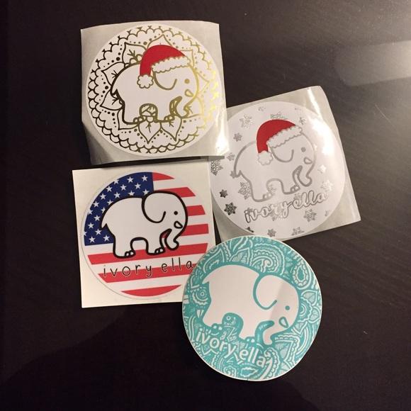 0a36a9e6399c0 Ivory Ella Sticker Bundle!