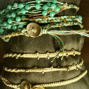 Two Chan Luu Wrap Bracelets