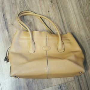 Tod's Handbags - Tod's camel colored tote