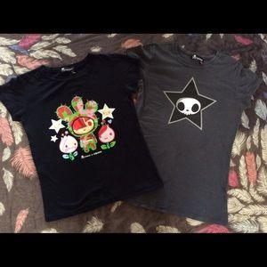 tokidoki Tops - tokidoki tee shirt set/lot (2)