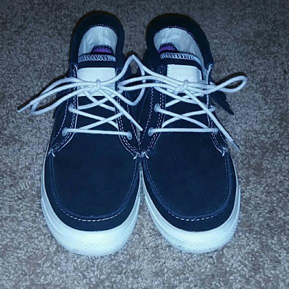 867b283b02d0 Converse Shoes - Black fringe Converse Sneakers