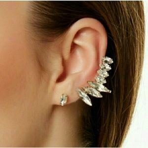 Crystal Cuff earing