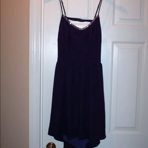 Tinley Road Dresses & Skirts - NWT size L purple strappy dress