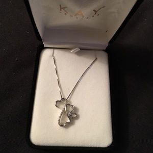 Open heart collection necklace