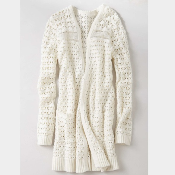 20% off Anthropologie Sweaters - Anthropologie Blythe eyelet white ...
