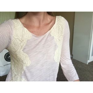 Light Pink Embroidered Top