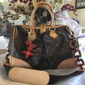 LV Limited edition Stephen Sprouse bag