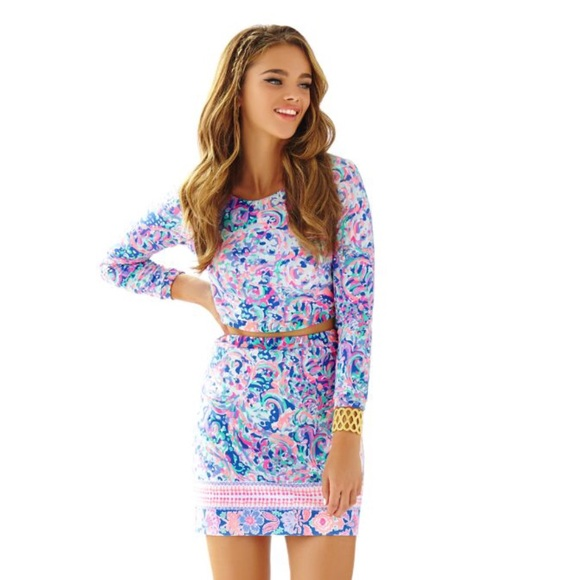 fe5163e4c6802c Lilly Pulitzer Dresses & Skirts - *ISO* Boca Chica Crop Top & Skirt Set