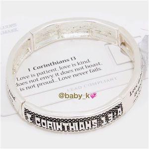 1 Corinthians 13:4 Bracelet