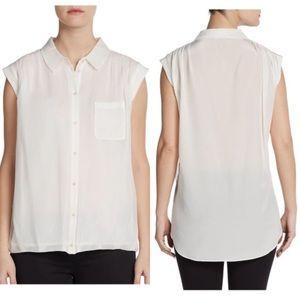 Elizabeth and James 'Henna' silk shirt