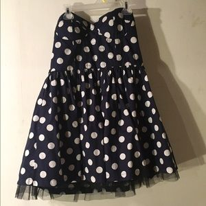 Dresses & Skirts - Pokadot tube dress