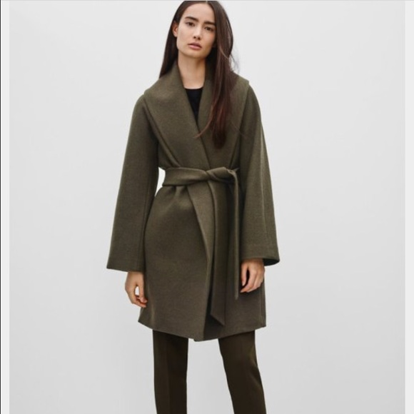 30% off Old Navy Jackets & Blazers - Wool Wrap Coat from Kayla's ...