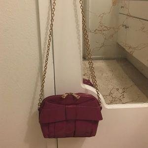 Zac Posen Handbags - Purple bow ZAC POSEN cross body 🌺