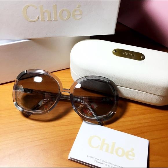 1a69b8cf06cb Chloe Accessories - Chloe Myrte Sunglasses translucent blue grey
