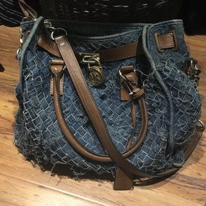 17ea214cd7e8 Michael Kors Bags - Michael Kors Denim Purse