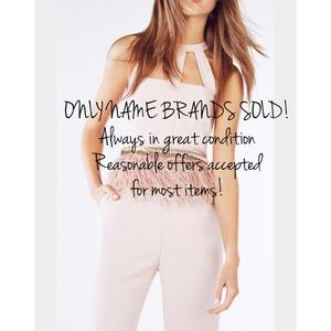 ONLY NAME BRANDS SOLD