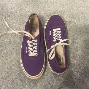 Vans Shoes | Dark Purple Vans | Poshmark