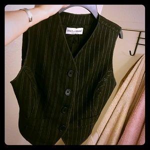 Dolce & Gabbana women's pin stripe vest