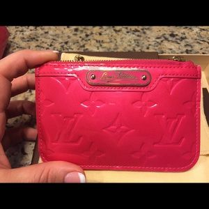 ❤️ sold ❤️Auth Louis Vuitton Rose Pop Cles EUC