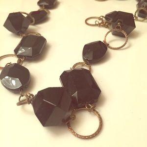 Jewelry - Black chunky necklace