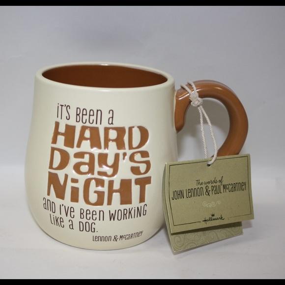 Mug Hallmark AccessoriesMorning Coffee Beatles Featuring Lyrics VMUzpS