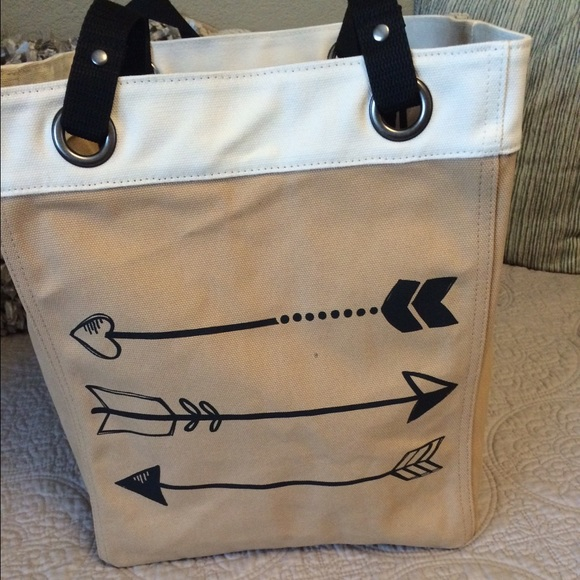 Thirty One Canvas Storage Tote. New In Bag.
