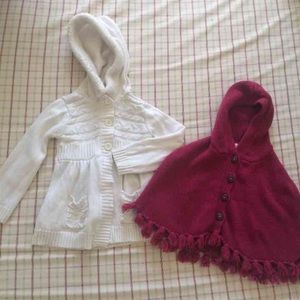 Other - Girls poncho size 3t.