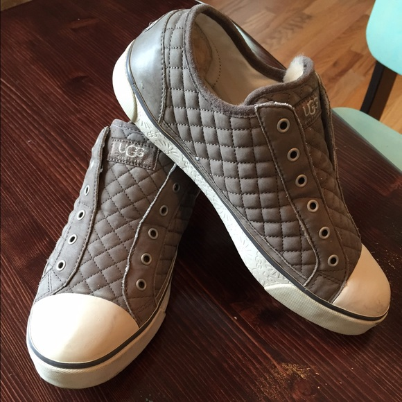 ugg quilted sneakers