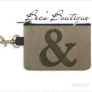 *CLEARANCE LAST TWO!* Ampersand Coin Purse