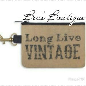 *CLEARANCE* Long Live Vintage Coin Purse
