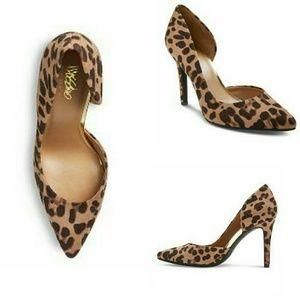 Leopard Print Heels
