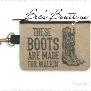 Boots Coin Purse