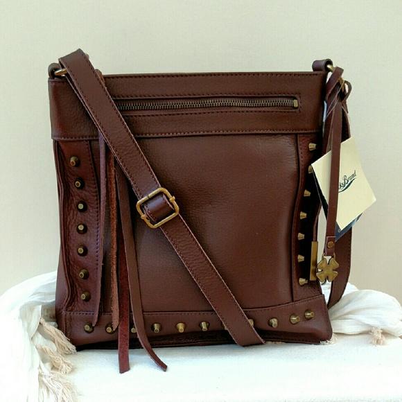 2cdbb2c9a878 NEW Lucky Brand Leather Crossbody Bag