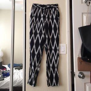 High waisted jumper pants
