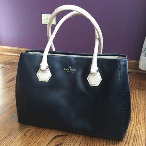 crocodile birkin bag price - kate spade - KATE SPADE Tan and black carrier purse from ...